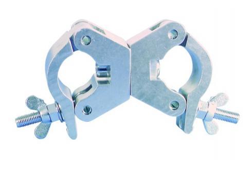 EUROLITE TPC-35 Klammer beweglich silber
