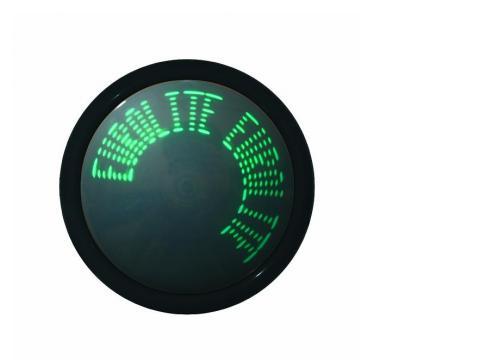 Moving Message LED-Werbelaufschrift grün