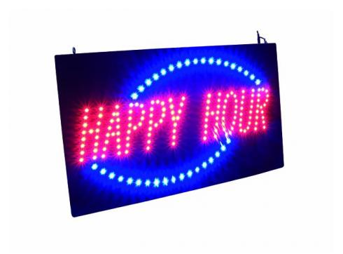 EUROLITE LED HAPPY HOUR Schild strobe/dim