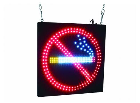 EUROLITE LED NO SMOKING Schild mit strobe