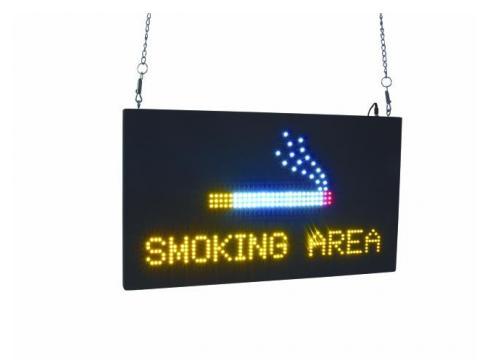 EUROLITE LED SMOKING AREA Schild