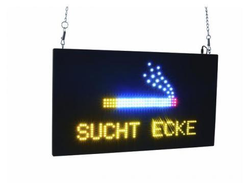 EUROLITE LED SUCHTECKE Schild