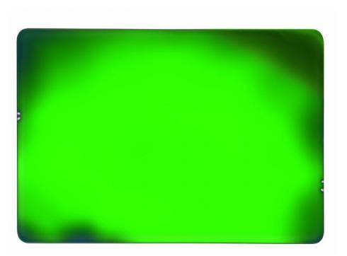 Dichro-Filter grün 530x390x4mm frosted