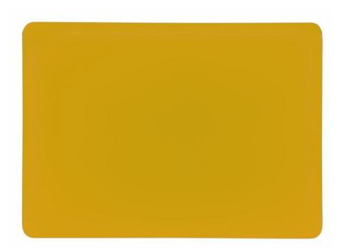 Dichro-Filter goldgelb 258x185x3mm klar