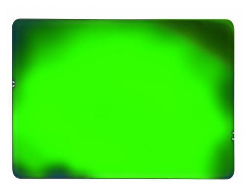 Dichro-Filter grün 258x185x3mmfrosted