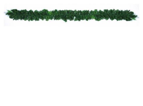 Tannengirlande grün natur 270cm