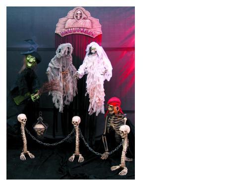 Halloween Hochzeitspaar 95 cm bzw.91 5 cm