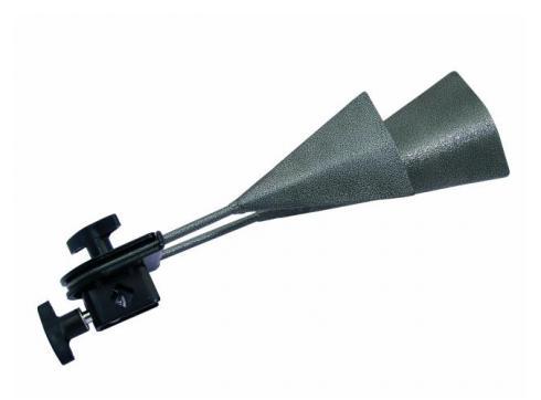 DIMAVERY AB-20 Agogo-Bell Metall schwarz