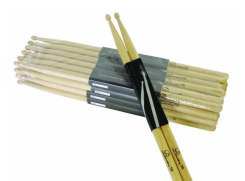 DIMAVERY DDS-5B Drumsticks Ahorn