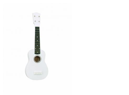 DIMAVERY UK-200 Ukulele sopran weiß