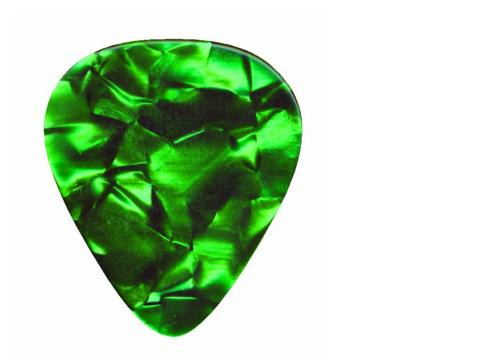 DIMAVERY Pick 0 46mm Pearleffekt grün /12