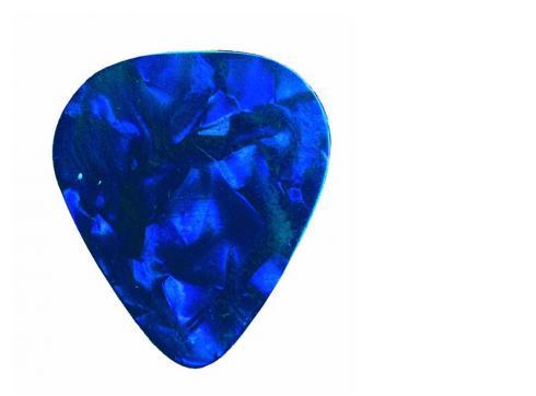DIMAVERY Pick 0 46mm Perleffekt blau /12