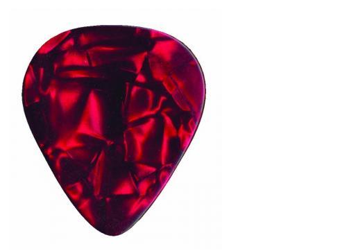 DIMAVERY Pick 0 96mm Perleffekt rot /12