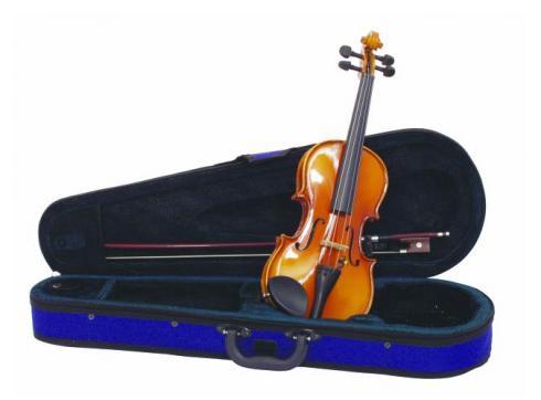DIMAVERY Violine 1/8 mit Bogen im Case