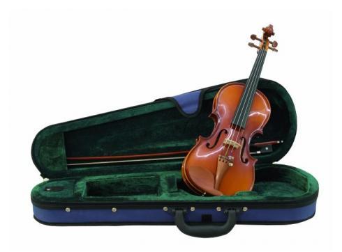 DIMAVERY Violine 1/4 mit Bogen im Case