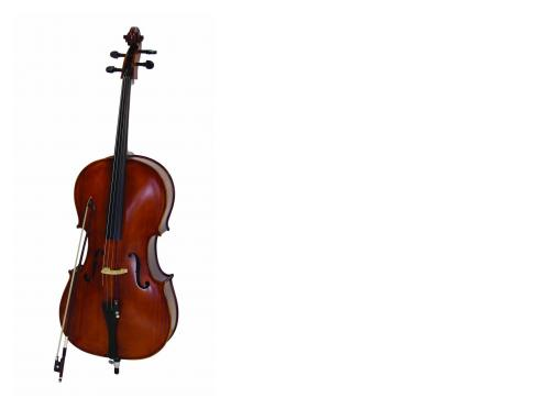 DIMAVERY Cello 1/2 mit Soft-Bag