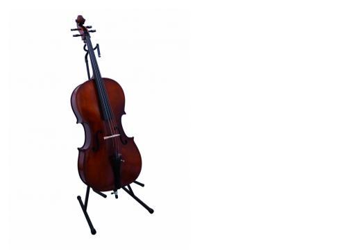 DIMAVERY Ständer f. Cello / Kontrabass