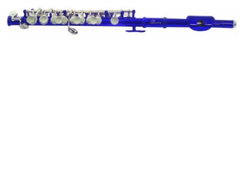 DIMAVERY PC-10 C Piccoloflöte blau
