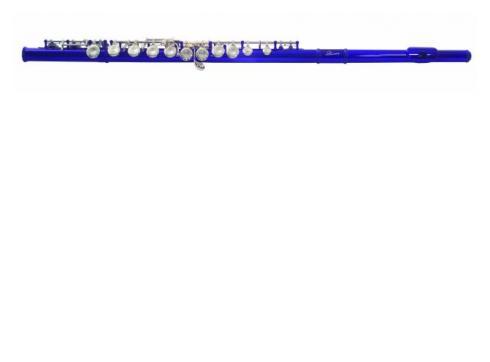 DIMAVERY QP-10 C Querflöte blau