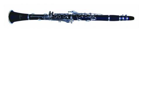 DIMAVERY K-17 Bb Klarinette 17 Klappen gebürstetem Kunststoff