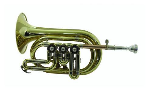 DIMAVERY CTR-300 Bb Kornett m.Drehventile