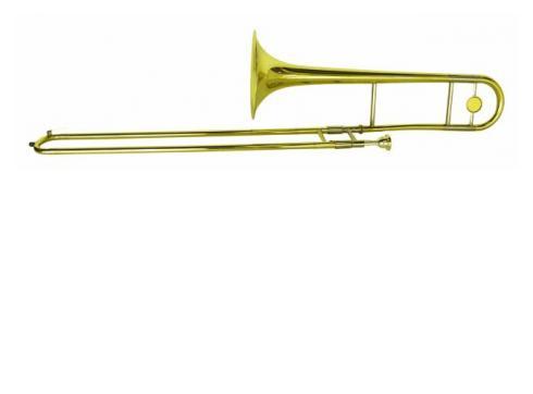 DIMAVERY TT-300 Bb Tenor Posaune gold