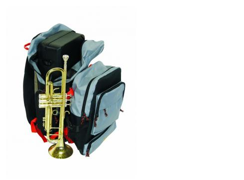 DIMAVERY Spezial-Rucksack für Trompete