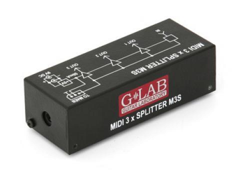 G LAB M3S MIDI 3X SPLITTER
