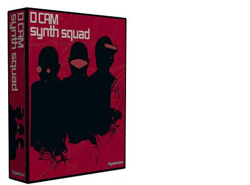FXpansion Dcam Synth Squad Software Synthesizer