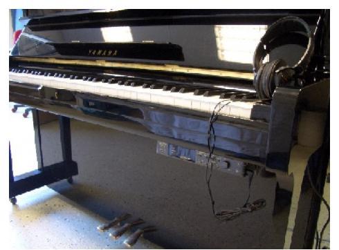 Yamaha Klavier U1 ( gebraucht ) mit neuem Silentmodul GT2