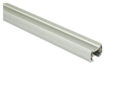 1-phasen Stromschiene 1315mm matt silber 230V