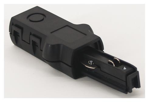 1-phasen Einspeiser schwarz 230V L 65 mm