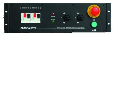 MOVECAT MPC 2LD8 f.2 Züge 483mm (19 ) 3HE