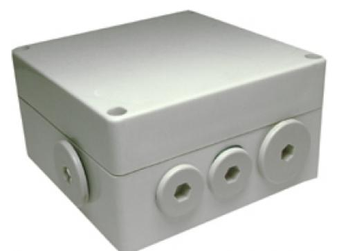 HTS-AUDIOEXT-182 wetterfestes Anschlußschutzgehäuse mit Mikrofon