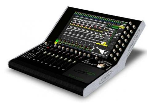 SmartAV Tango Main-Unit 8 Fader Workstation Controler