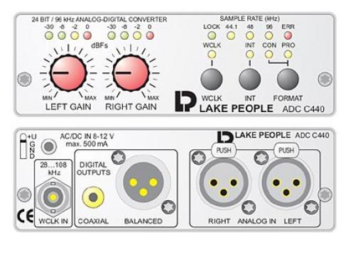 LAKE PEOPLE ADC C440 A/D WANDLER