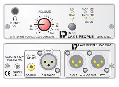 LAKE PEOPLE DAC C460 D/A WANDLER