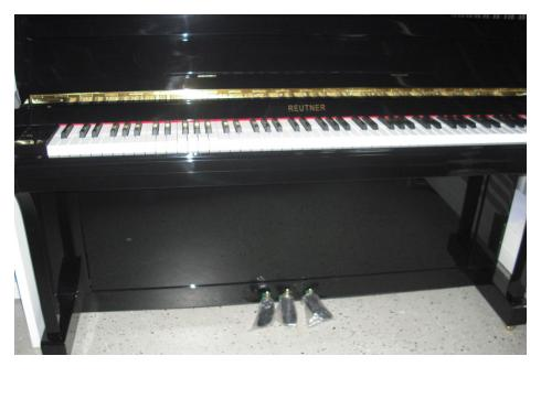 Klavier Marke Reutner 110 schw. poliert