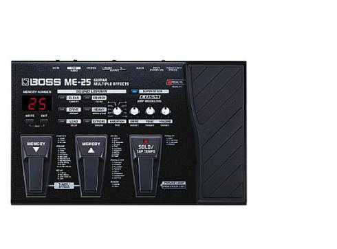 Boss Me-25 Multieffekt & Preamp