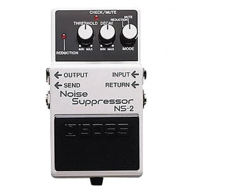 Boss Ns-2 Noise Suppressor mit Netzverteiler