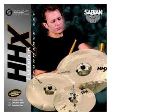 Sabian HHX Evolution Performance Set