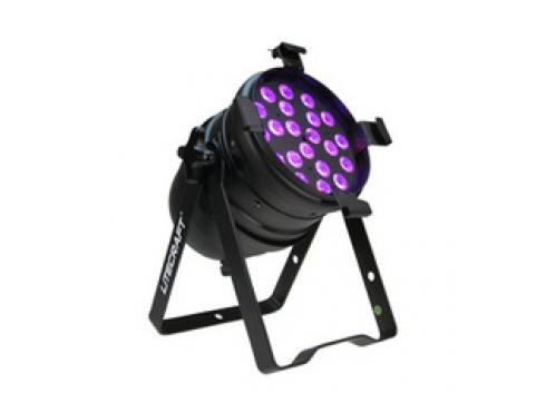 Litecraft LED PAR 64 AT3 Short Black