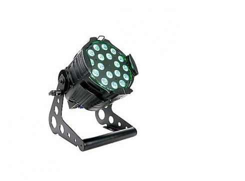 Litecraft Led Studio Par At3 black 18x 3 W Multicolour Leds 25°