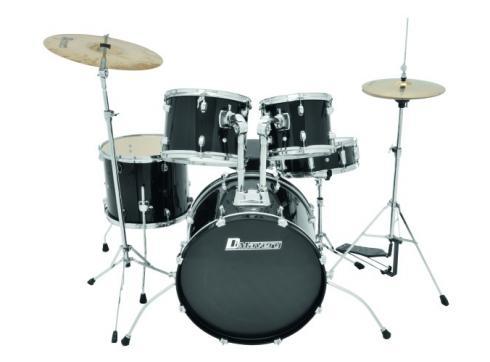DIMAVERY DS-400 Jugend Schlagzeug schw