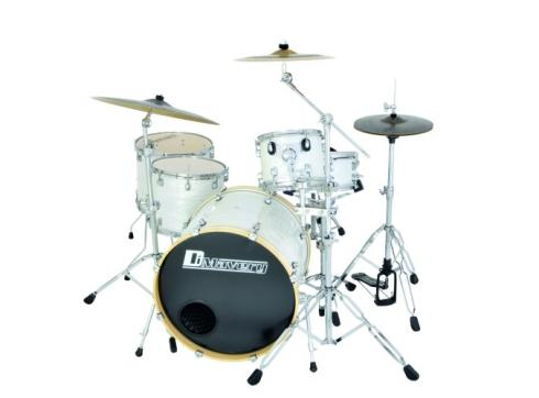 DIMAVERY DS-555 Schlagzeug-Set 5-tl.pearl