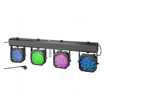 Cameo Multi PAR - Kompakte 432 x 10 mm LED Lichtanlage inkl. Transport-Case