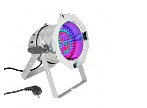 Cameo PAR 56 CAN - 108 x 10 mm LED RGB PAR Scheinwerfer in poliertem Gehäuse