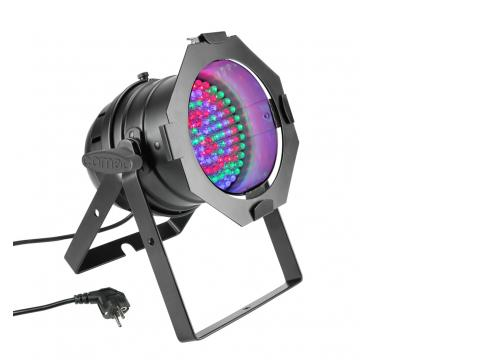Cameo PAR 56 CAN - 108 x 10 mm LED RGB PAR Scheinwerfer in schwarzem Gehäuse