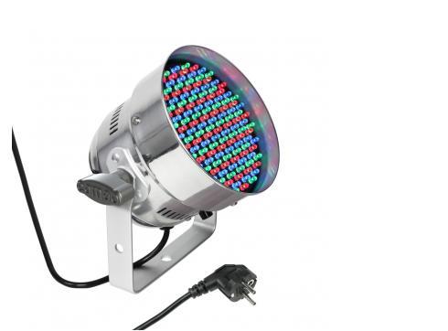 Cameo PAR 56 CAN - 151 x 5 mm LED RGB PAR Scheinwerfer in poliertem Gehäuse