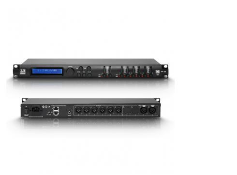"""LD Premium DPA 260 - 19"""" DSP Controller 6 Kanal"""